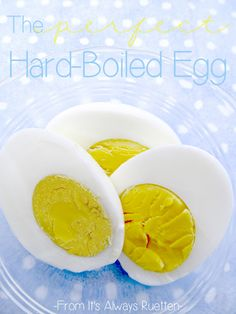 The Perfect Hard-Boiled Egg | It's Always Ruetten | #egg #tip #hard_boiled #cooking