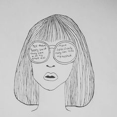 👓 #drawing #annika_to_go #girl #glasses #kiss #ass #asshole #artist #artoftheday #illustration #hair #funny #draw #draws #art #artwork Girl Glasses, My Drawings, Kisses, To Go, Sketch, Photo And Video, Illustration, Funny, Artist