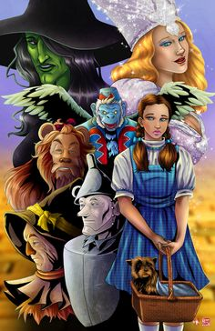 Wizard of Oz by Tyrine Carver | The Wonderful Wizard of Oz