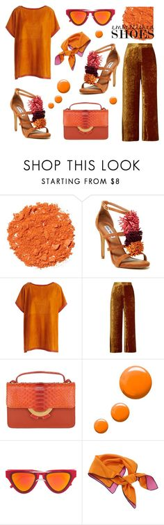 """""""Embellished Shoes"""" by bysc ❤ liked on Polyvore featuring Illamasqua, Steve Madden, Akris, A.L.C., Patricia Al'Kary, Topshop, Smoke x Mirrors and Christian Dior"""