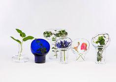 Liv series by Kristine Five Melvaer for Magnor Glassverk Flower Lights, Glass Vase, Vases, Flowers, Inspiration, Product Design, Accessories, Biblical Inspiration, Merchandise Designs