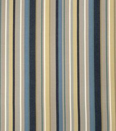 29.99 Home Decor Print Fabric- Richloom Studio Brahms-Horizon Stripes & home decor print fabric at Joann.com