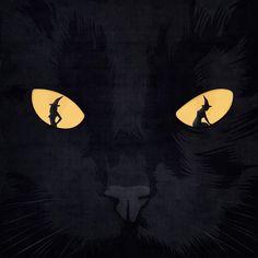 Have a nice Sabbath © Benedetto Cristofani, all right reserved #illustration #editorial #editorialillustration #conceptual #conceptualillustration #magic #halloween #blackcat #graphic www.benedettocristofani.net