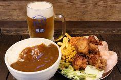 「今日は、たくさん飲んでたくさん食べたい!」というときにうれしいお店が秋葉原にあるのを知っていましたか?ヨドバシAkibaの1階にある「からあげ酒場 あげばか」は、からあげ食べ放題×20種類のドリンク飲み放題が30分999円!平日も22時までオーダーできるので、会社帰りの一人サク飲みにもぴったりですよ! Akiba, Ethnic Recipes, Food, Eten, Meals, Diet