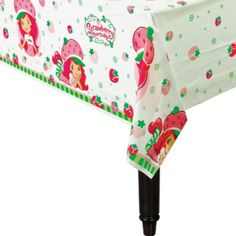 American Greetings Strawberry Shortcake Plastic Table Cover, 54 x Wholesale Party Supplies, Discount Party Supplies, Kids Party Supplies, Strawberry Shortcake Games, Strawberry Patch, Baby Girl Birthday Decorations, Disney Balloons, Wholesale Balloons, Plastic Table Covers