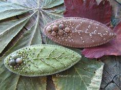 """Купить броши """"листопад"""" - листья, листик, листики, листопад, осенние листья, осень, осеннее украшение"""