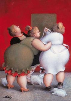 vehvepznbyf: Женщины работы двух художниц Sarah-Jane Szikora и Jeanne Lorioz