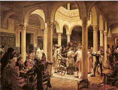 "Jose JimenezAranda - (1837-1903) "" El Café """