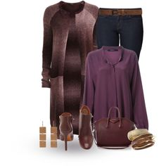 """""""Long Cardigan"""" by terry-tlc on Polyvore"""