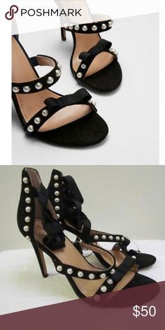 08d1a720bf3 Shop Women s Express Black size 8 Heels at a discounted price at Poshmark.
