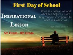 This is the perfect way to begin a course in 5th-8th grade. It was designed for a Language Arts classroom but could be adapted for other subject areas. The resource is an 8 slide powerpoint and 4 page set of inspirational quotes. The lesson would take between 40-60mins to complete. The idea is to inspire students on the very first day to be the very best they can be.