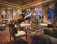 View our luxury interior design portfolio for Palm Beach, Florida and see why Marc-Michaels has won over 400 interior decorating awards worldwide.