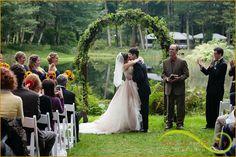 Kiss the bride  Bridal Veil Lakes  Lifestyle Wedding Photography Portland, Oregon www.thartofjoy.biz