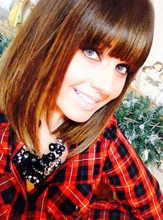 25 Long Bob with Bangs | Bob Hairstyles 2015 - Short Hairstyles for Women