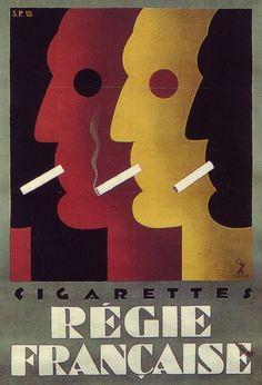 cigarettes - Régie française - (Sepo) -