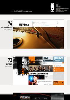 FCINQ #portfolio #webdesign