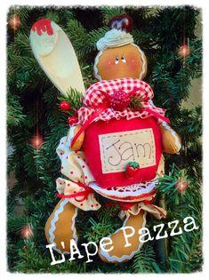 Cartamodelli ginger Natale 2015 : Cartamodello ginger Jam