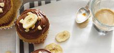 Muffins aux bananes, glaçage choco-arachide - Ricardo