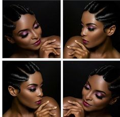 Short finger waves! Love for special occasion. @thecutlife @toboreowen
