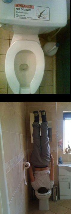 who knew toilets were so hazardous!