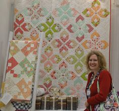 Happy Quilting: Spring Market 2015 - A few last shares and that's a wrap!