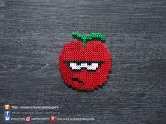 Cerise Grincheuse Perles Hama / Grumpy Cherry Perler Beads