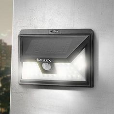 ARILUX SOLAR POWER 44 LED PIR MOTION SENSOR OUTDOOR WIDE ANGLE WATERPROOF WALL LAMP http://ift.tt/2h9MYCO #solarpowered #renewable #solarenergy #homesweethome #securty #family