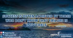 The harder you focus on failure, the harder it is to succeed! #DigitalProsperity #BusinessBasics #DailyInspiration