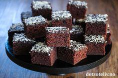 Det søte liv   Best på kakeoppskrifter! Krispie Treats, Rice Krispies, Chocolate Recipes, Food And Drink, Cooking Recipes, Baking, Desserts, Liv, Tailgate Desserts