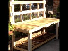 Potting Bench how-to video — the diy collaborative
