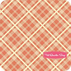 Chicopee Red Simple Plaid Yardage SKU# PWDS032-REDXX - Fat Quarter Shop