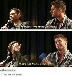 Really Jensen...