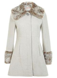 Peterpan Fur Coat £89 Miss Selfridge