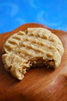 Super soft peanut butter cookies.