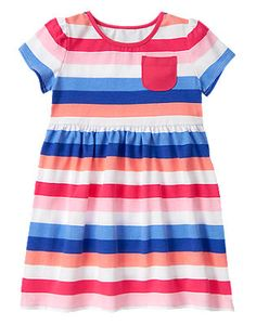 Mix N Match Multi Striped Dress Size T Toddler Girl Outfits