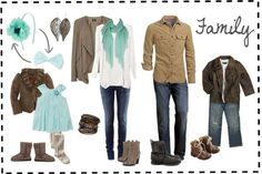 What to wear aqua and neutrals