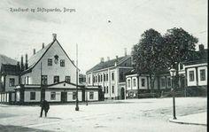 Hordaland fylke BERGEN. Raadhuset og Stiftsgaarden. Utg CAE