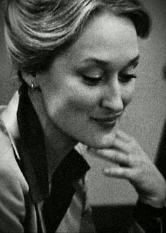 Meryl Streep..