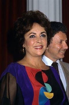Elizabeth Taylor circa 1980s