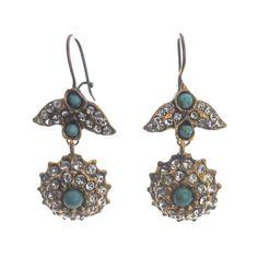 JJ Caprices - Ottoman Inspired Earrings by Hüseyin Sağtan #jewelry #followyourcaprice