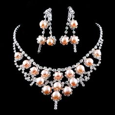 "Bridal Jewellery From ""OUR"" Online Department Store TripleClicks!!Necklace sets and Earrings! 