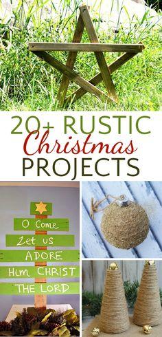 20+ Rustic Christmas