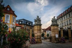 Ansbach Old Town Germany
