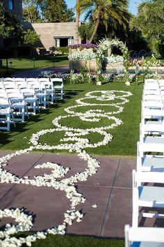 wedding ceremony idea; photo: Erica Velasco Photography