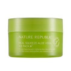 NATURE REPUBLIC Real Squeeze Aloe Vera Ice Pack
