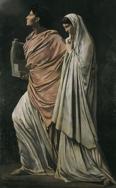 Anselm Feuerbach - Orpheus und Eurydike 1869