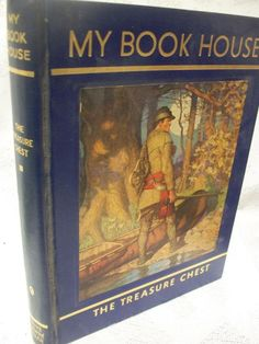 My Book House Volume 9 The Treasure Chest Edited By Olive Beaupre Miller 1960 HB
