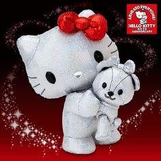 HELLO KITTY'S FAN CLUB 40週年限量超美型KITTY絨毛娃娃介紹 & L K K 的心聲 - longson1001 # 天空部落 TIAN #