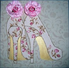 Collage wall art,  high heel shoes Sold 7-10-13
