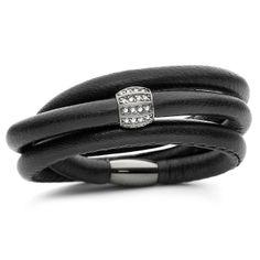 STORY Black Lambskin Starter Bracelet with Black Rhodium Charm Black Rhodium, Fitness Inspiration, Pandora, Wedding Rings, Charmed, Joy, Jewels, Engagement Rings, Bracelets